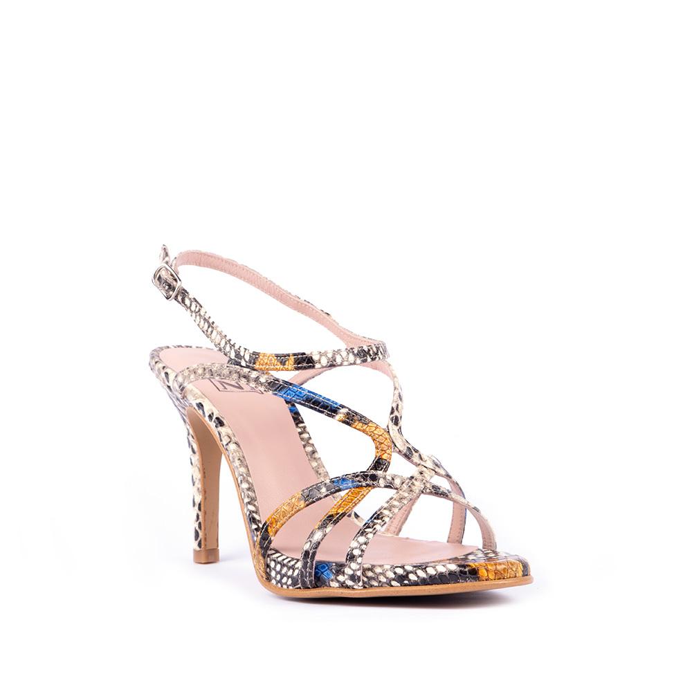 16400joni Tricolor Shoes Sandalia 1fkctjl3 Serpiente Tacon De 4Sc35AjLqR