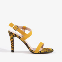 sandalia joni shoes en color amarillo 18157