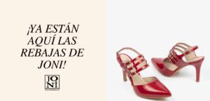 En este caso en la imagen aparece uno de nuestros modelos más icónicos, unos salones abiertos en charol de color rojo, estos zapatos de tacón rojo fino y made in spain, son perfecto para estas rebajas.