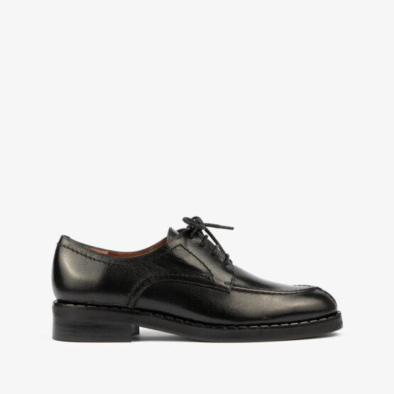 Zapato Negro de cordones 07097