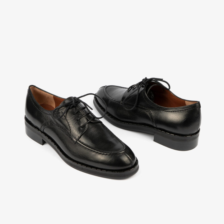 Zapato Negro de cordones 07097Zapato Negro de cordones 07097
