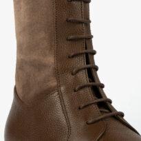 Botín marrón de caña alta 21481